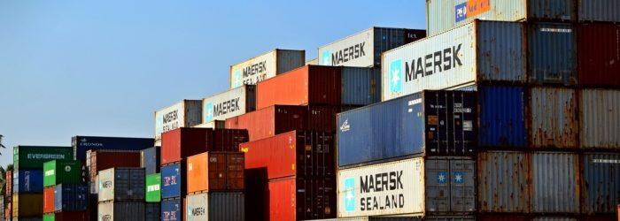 Stort utvalg av containere